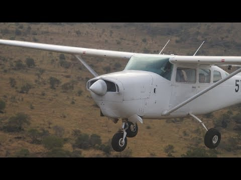 Formation flying over Mount Kilimanjaro - Kenya, Africa - Throwback Flight - Cessna 206