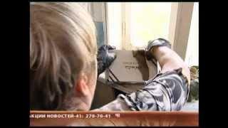 видео На балкон залетела летучая мышь