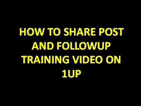 VLOG# 3   HOW TO SHARE 1UP POST AND FOLLOWUP TAGALOG