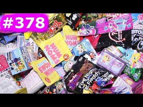 Random Blind Bag Box Episode #378 - Jungle In My Pocket, Grossery Gang, Squinkies, Num Noms, Shopkin