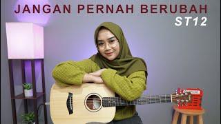 Download lagu JANGAN PERNAH BERUBAH - ST12 (ACOUSTIC COVER BY REGITA ECHA)