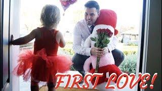 HILARIOUS DAD DAUGHTER VALENTINES DATE