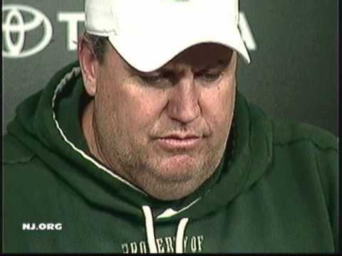 REX RYAN ON JETS LOSS TO COLTS 09 pt2