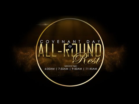 DOMI STREAM: COVENANT DAY OF ALL ROUND REST SERVICE | 24, JANUARY 2021 | FAITH TABERNACLE OTA