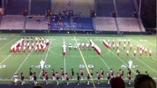 ballard high school marching band homecoming show part 1