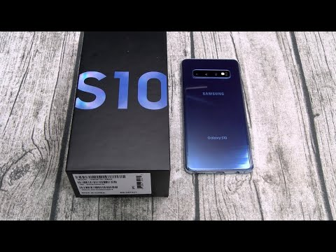 Samsung Galaxy S10 - Unboxing And First Impressions