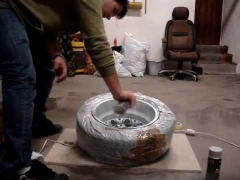 Malowanie felg aluminiowych sprayem