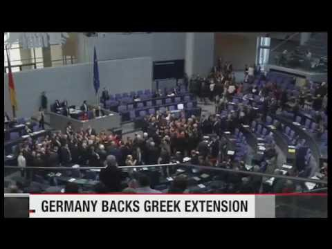 Germany approves Greek bailout extension   News   NHK WORLD   English