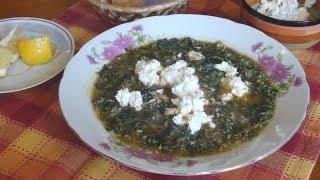 Весенний витаминный суп с крапивой