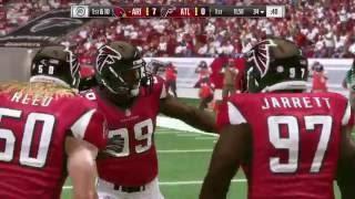 NFL Week 12 - Arizona Cardinals vs Atlanta Falcons - Full Game - Simulation Nation