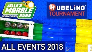 Hubelino Marble Race Tournament 2018 - All Events