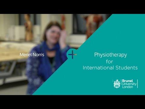 Physiotherapy for International Students   Brunel University London