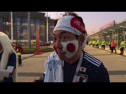 World Cup: Fans still optimistic after Japan-Senegal draw