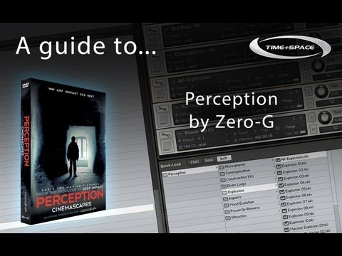 Zero-G Perception Sample LIbrary for Film, TV and Video Games - Free Taster Pack Available