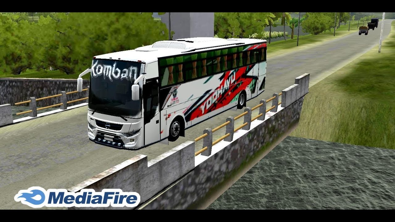 How To Download Komban Bus Mod For Bus Simulator Indonesia Bussid Youtube