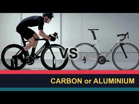 Карбон или Алюминий - Carbon vs Aluminium frameset