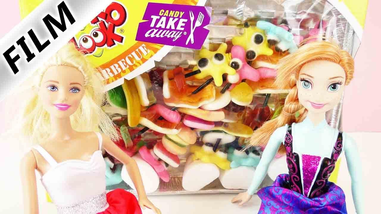 candy bbq party mit barbie und frozen anna s igkeiten spie e test spiel mit mir. Black Bedroom Furniture Sets. Home Design Ideas