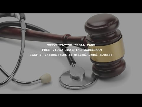 Introduction to Medical-Legal Fitness