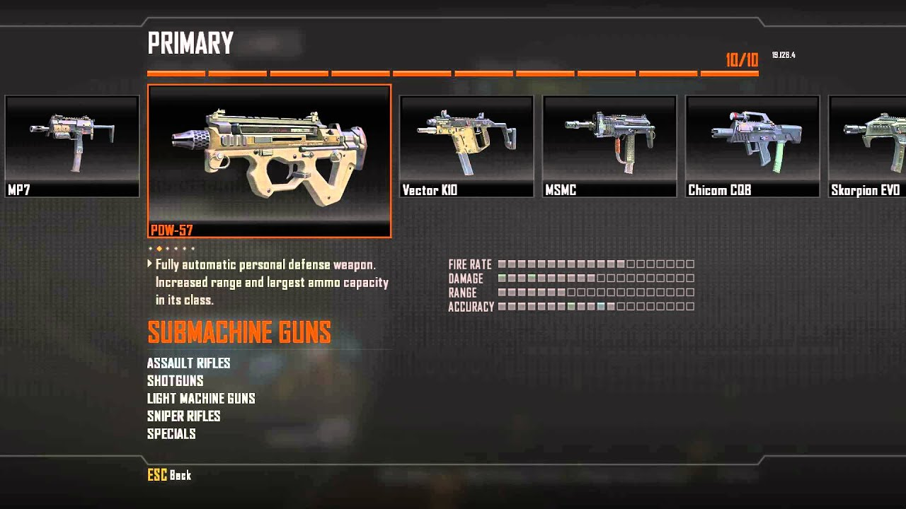 how to change custom class color black ops 2