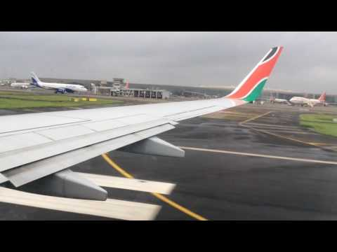 Flight Report | Kenya Airways | BOM-NBO | KQ211 | 5Y-CYB | Economy Class