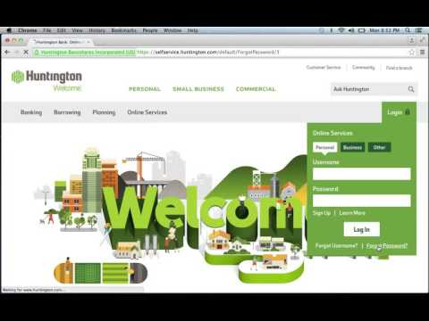 Huntington Bank Online Banking Login Instructions