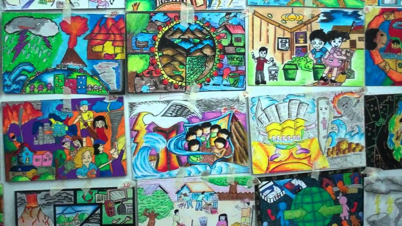Entries to the Disaster Preparedness Poster Making Contest - YouTube