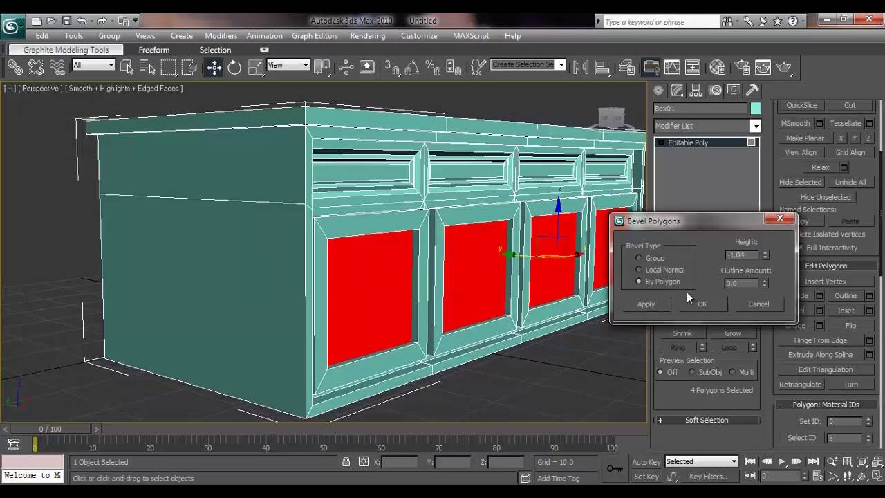 3ds max house modeling tutorial how model storage for Tutorial 3d max