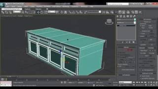 3ds Max House Modeling Tutorial: How Model Storage Cabinets For Kitchen Pantry Cupboard