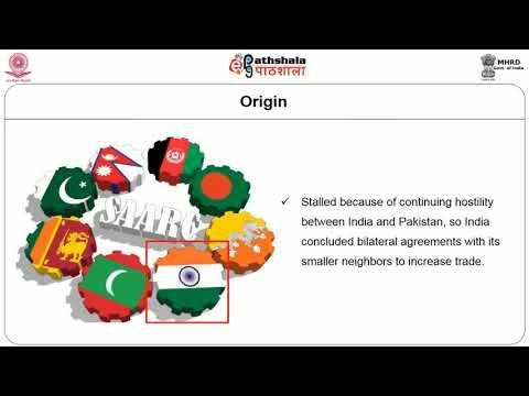 Regional Integration SAPTA and SAFTA