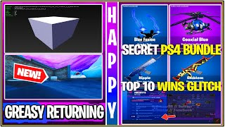 *NEW* Fortnite: FREE WINS GLITCH, Cattus Event Leaks/Greasy POI, PS4 Secret Bundle, & Animated Wraps
