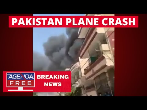 Plane Crashes in Pakistan - LIVE BREAKING NEWS COVERAGE