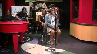 "Leela James performs ""Say That"" and Fall For You"" on the Tom Joyner Morning Show"