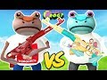RED MEGALODON FROG TURNS EVERYONE INTO PUNGENCE & CHERU FROGS || Amazing Frog Funny Gameplay Part 57