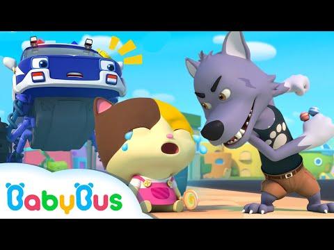 Babybus Arabic ساعد سيارة الشرطة أغاني السيارات الضخمة اغاني وكرتون للاطفال بيبي باص Youtube