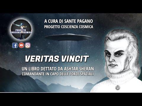 VERITAS VINCIT, un libro dettato medianicamente da Ashtar Sheran per donarci la Conoscenza Cosmica