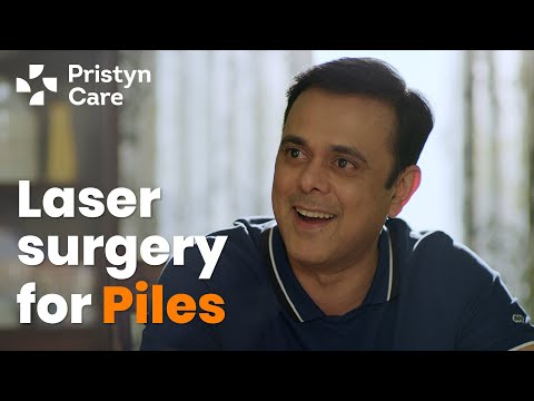 Piles Laser Surgery at Pristyn Care | ft. Sumeet Raghvan  | Simplifying Surgery Experience