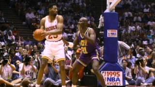 Jordan, Drexler, and Barkley Highlight the Top 10 Plays of the Week- May 7, 1995