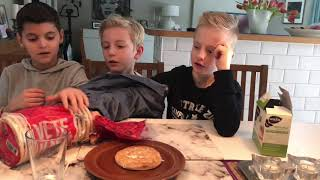 No arms challenge hur man gör en modern frukost