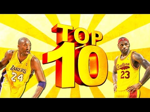 TOP 10 NBA2K GAMES OF ALL TIME!