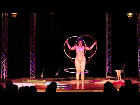"""Valentina's Slinky Hoop Burlesque at """"Seduced by the Imaginarium Circus"""" from YouTube · Duration:  4 minutes 43 seconds"""