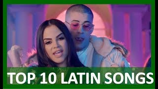TOP 10 LATIN SONGS (JANUARY 20, 2018)
