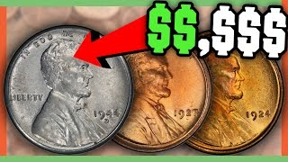 RARE WHEAT PENNIES WORTH MONEY - VALUABLE COINS IN YOUR POCKET!