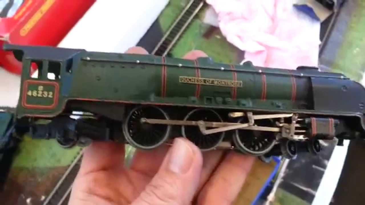 Oo Meccano Hornby Dublo Duchess Of Montrose 3 Rail Steam