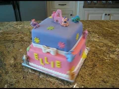 littlest pet shop taart littlest pet shop cake   YouTube littlest pet shop taart