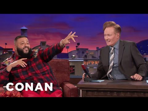DJ Khaled Yells His Name On CONAN  - CONAN on TBS