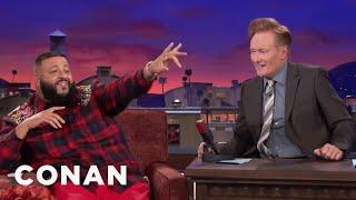 DJ Khaled Yells His Name On CONAN  - CONAN on TBS