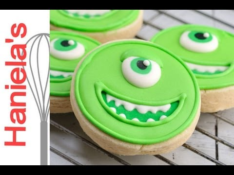 MIKE MONSTERS UNIVERSITY COOKIES, HANIELA'S