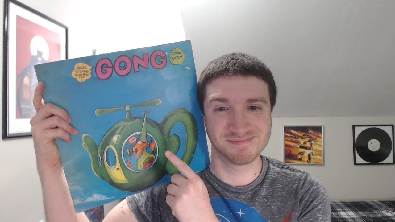 Record Reviews: Gong - Flying Teapot (Radio Gnome Invisible Trilogy, Part  1) (1973)