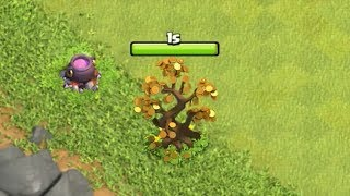 Clash of Clans - WHAT HAPPENS IF YOU REMOVE THE FORTUNE TREE?