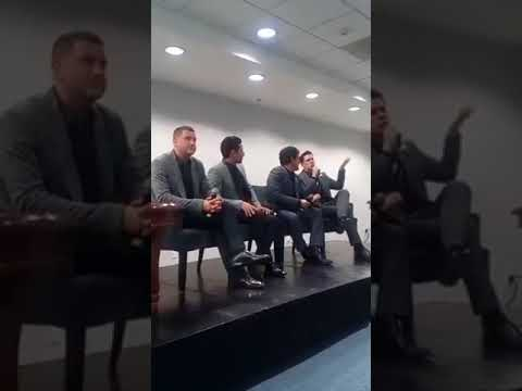 IL DIVO Press Conference Promo Timeless CD & Tour Mexico 16-4-2018